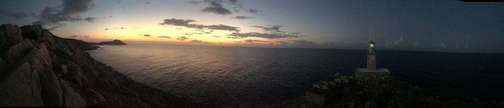 Sunrise - Lighthouse Tenaro