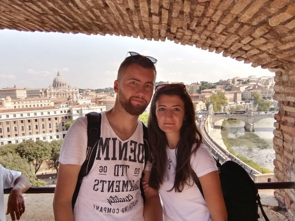 Výhľad z Castel Sant'Angelo
