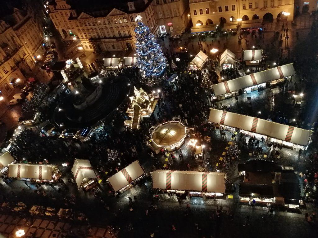 Vianočné trhy - Staromestské námestie.