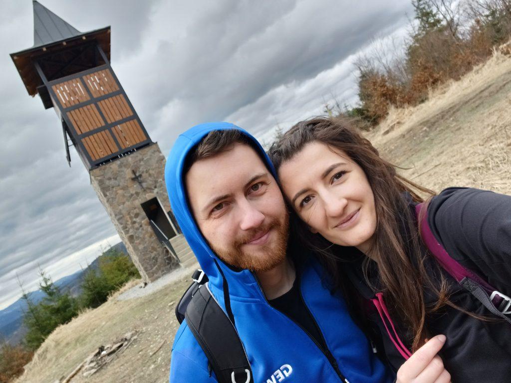 Slovensko -> Rozhľadňa na Hladkom vrchu, Kysucká vrchovina